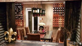 Dining Room/Standing Wine Cellar