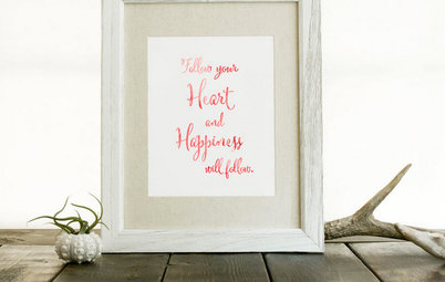 Shop Houzz: Make Your Own Day of Happiness