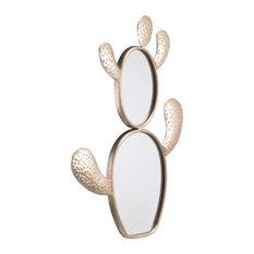 Cactus Mirror, Champagne Gold