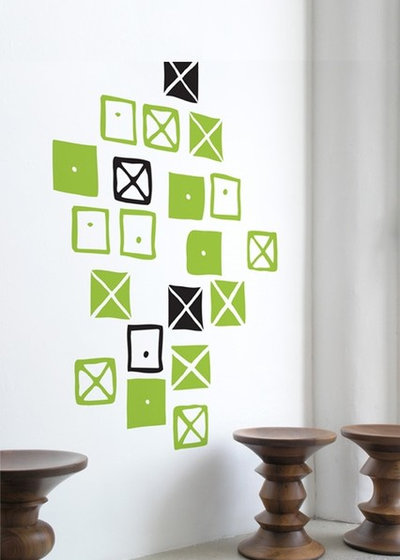 12 ways with today 39 s wall decals - Blik wall stickers ...
