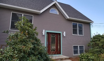 Front of house Painted