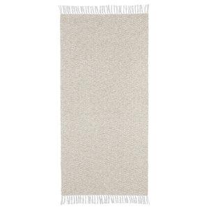 Goose Light Grey Vinyl Floor Cloth, 70x50 cm