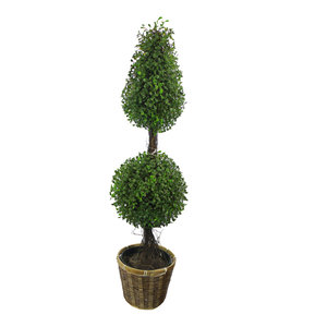 Artificial Boxwood Leave Topiary Tree