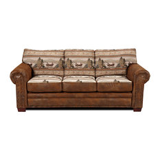 Alpine Lodge 4-Piece Sofa Set With Sleeper