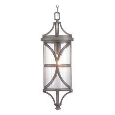 Morrison Collection 1-Light Hanging Lantern, Antique Pewter