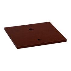 """Ronbow Essentials Cami 19"""" Bathroom Wood Vanity Counter Top, Dark Cherry"""