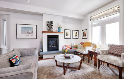 Houzz Tour: Bright, Comfy and Family-Friendly in a Once-Dark Home