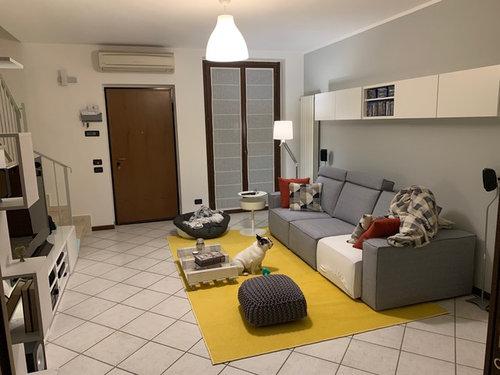 Pareti Soggiorno Grigio Scuro : Colori parete soggiorno