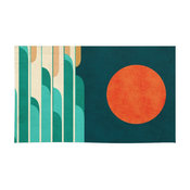 Society6 Chasing Wave Under The Red Moon Rug, 2'X3'