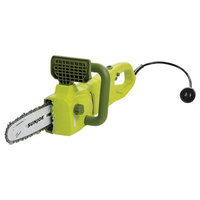 8-Amp Convertible Electric Telescoping Pole Saw, Green