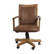 Sunny Designs Santa Fe Office Chair, Rustic Oak