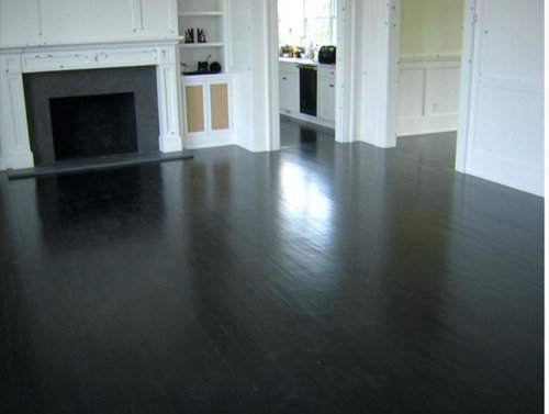 Can I Stain My Red Oak Floors A Deep Ebony Color