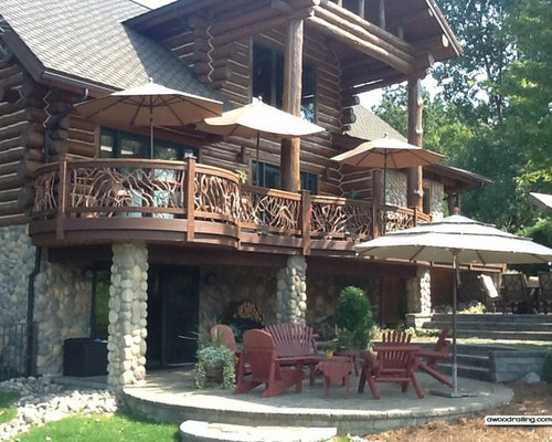 Best Log Home Railing - Molding And Millwork