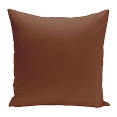 "Asian Collection Solid Decorative Pillow, Copper, 26""x26"""