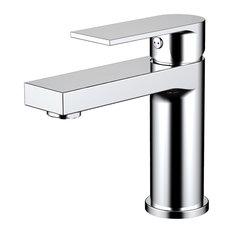Eviva Pure Single Handle Bathroom Sink Faucet, Chrome
