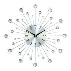 """GwG Outlet - GwG Outlet Metal Wall Clock, 15"""" - Wall Clocks"""
