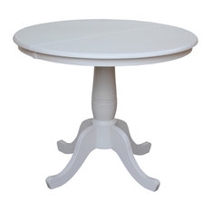 Best Expandable Round Dining Room Tables Houzz