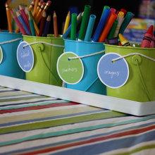 Organizing Kids' Art Supplies