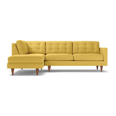 Remarkable 50 Most Popular Yellow Sectional Sofas For 2019 Houzz Machost Co Dining Chair Design Ideas Machostcouk