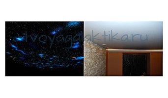 Роспись потолка Звёздное небо 3Д