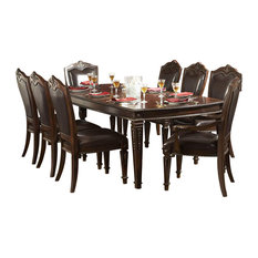 Traditional dining room tables houzz for 108 inch dining room table