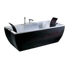 Kali'-Art Wenge Free Standing Bathtub