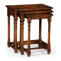 JONATHAN CHARLES HUNTINGDON Nesting Tables Traditional Antique