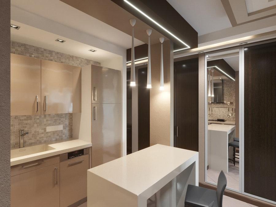 Проект трёхкомнатной квартиры IO001