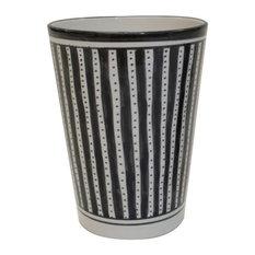 Stripe Vase/Utensil/Wine Holder