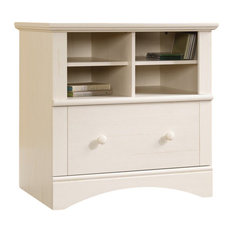 Antique White File Cabinet | Houzz