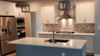 Transitional White Remodeled Kitchen
