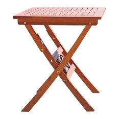 Outdoor Eucalyptus Folding Bistro Table