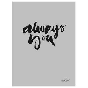 """Always You"" Paper Print by Ylva Skarp, 30x40 cm"