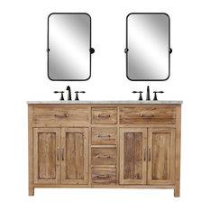 Terrific 50 Most Popular Natural Wood Bathroom Vanities For 2019 Houzz Home Interior And Landscaping Ponolsignezvosmurscom