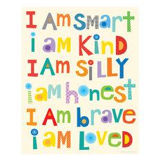"""I Am Smart Print, 11"""""""