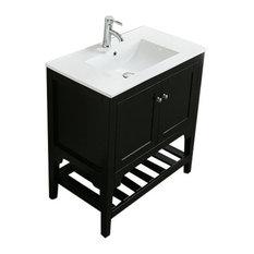 Admirable 50 Most Popular Espresso Bathroom Vanities For 2019 Houzz Home Remodeling Inspirations Gresiscottssportslandcom