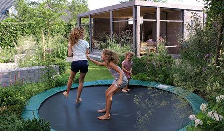 17 spannende Ideen für den Spielplatz im Garten