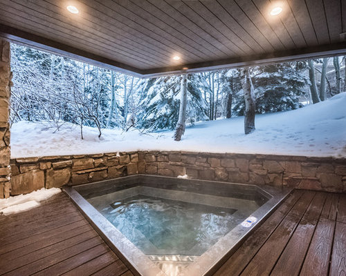 In Ground Stainless Steel Hot Tub