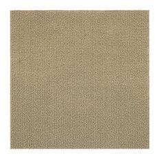 """Nexus Tan 12""""x12"""" Self Adhesive Carpet Floor Tile, 12 Tiles/12 sq. ft."""