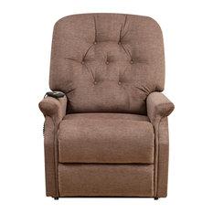Montalto Pin-Tuck Lift Chair, Saville Brown