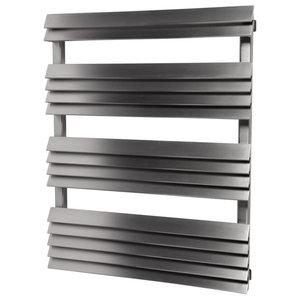 Aeon Panacea Bath Towel Radiator, Brushed Stainless Steel, 168x60 Cm