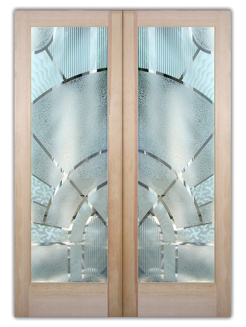 Glass Front Doors Pd Double Entry Doors Frosted Glass