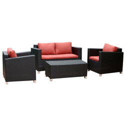 Tropical Outdoor Lounge Sets by Abbyson Living