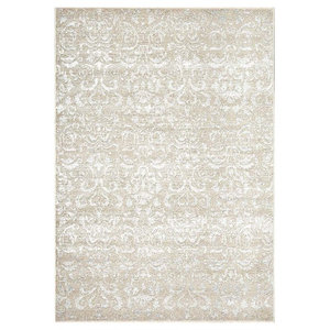 Dynamic Rugs Avalon 88801 116 Taupe Ivory Rug