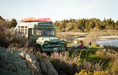 Il Furgone Chevrolet Viking Diventa una Casa Vacanze Hippy Chic