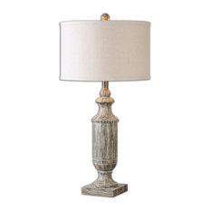 Uttermost Agliano Lamp, Aged Dark Pecan