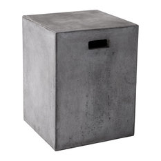 Sunpan Modern Home   Castor End Table, Anthracite Gray   Side Tables And  End Tables