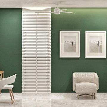 Home Office | Penthouse | Artis Interiorz | Bangalore