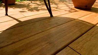 Bambus ComBam Terrassendielen coffee in 2200 x 140 x 20 mm