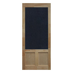 "Elmwood Wood Screen Door, 1.38""""x36""x80"""
